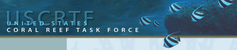 U.S. Coral Reef Task Force banner